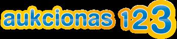 UAB Aukcionas 123 logo